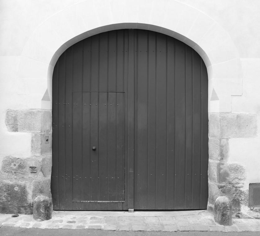 porte immeuble