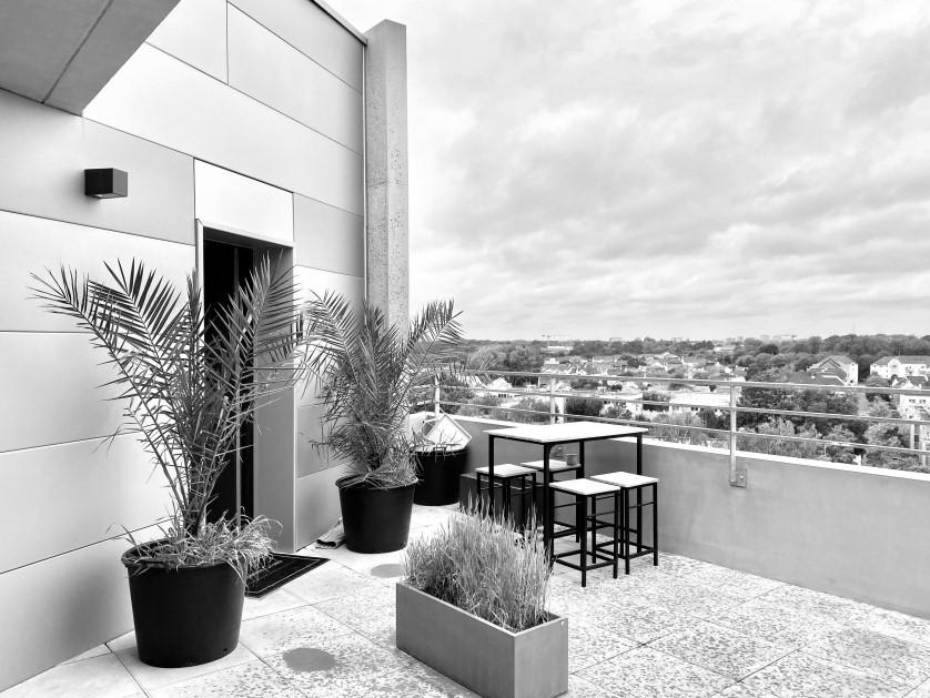 Eraudière – T3 en dernier étage dans immeuble neuf – 365.000 € fai